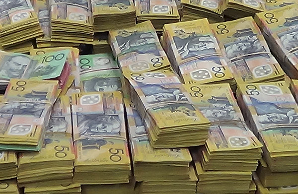 Australia Unexplained Cash